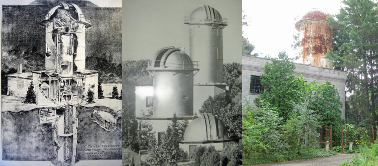 McMath-Hulbert Solar Observatory Then and Now