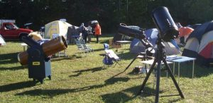 Telescopes at the Star Gaze