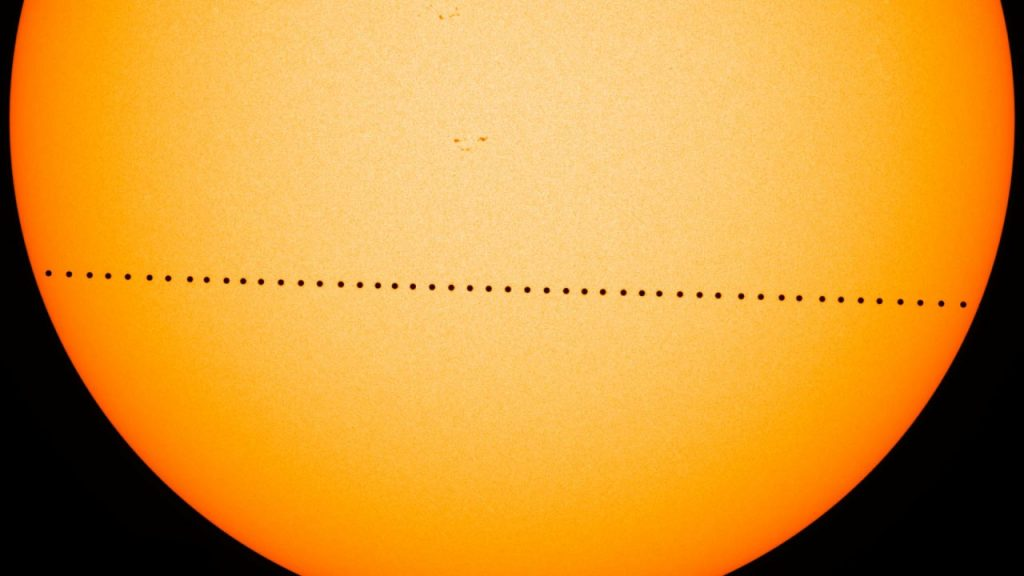 Mercury Transit, NASA 2016