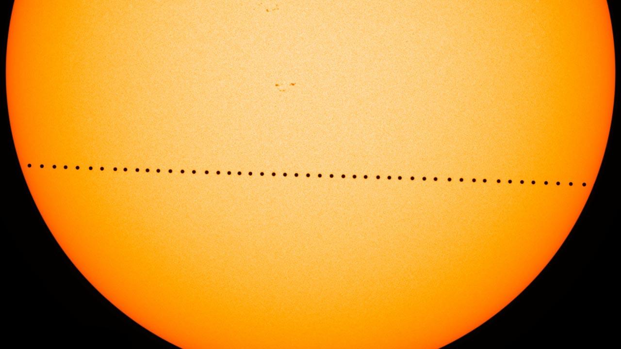 Mercury Transit, NASA 2016