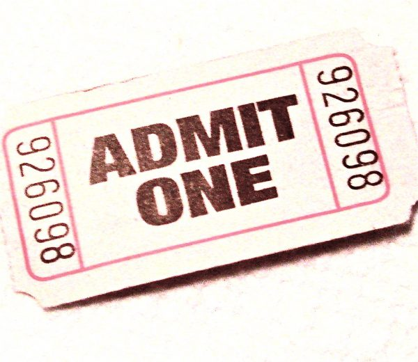 image of a ticket